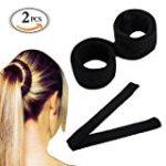 Knotenringe für Haarstyling
